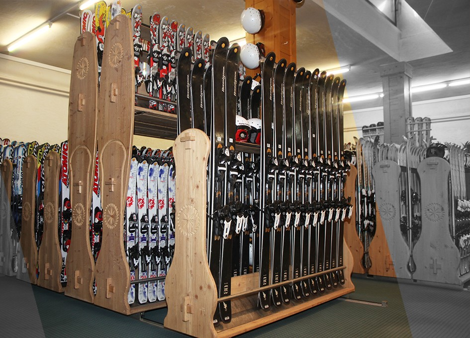 Buy skis in Courchevel