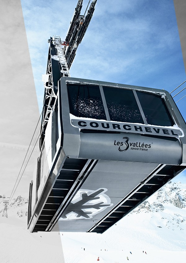 Rent skis in Courchevel